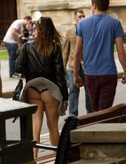 Upskirt Cameltoes #rec Amateur showing pussy PublicNudity 15 #25494316