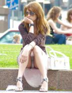 Upskirt Cameltoes #rec Amateur showing pussy PublicNudity 15 #25494470