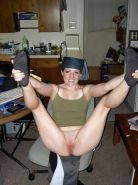 Amateurs spread legs and show us their pussy #33685534