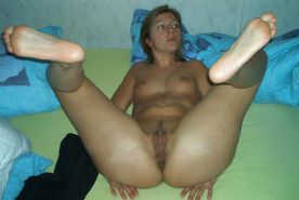 Amateurs spread legs and show us their pussy #33685617