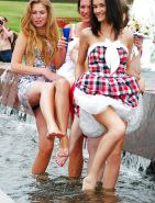 Upskirt, Flashing, candid images from girls and matures #27066751