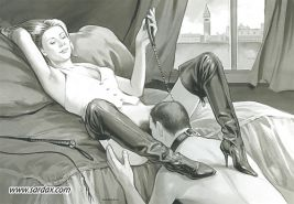 Retro BDSM Art by SARDAX