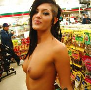 Nude in Supermarket or Store 3
