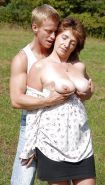 Sexy young stud fucking mature MILF Gallery 2