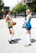 Alison Tyler & Alaina Fox - Sapphic Basketball Game