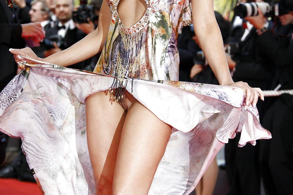 Celebrities #rec Pussy Camel toes Upskirts Panties G12 #30217463