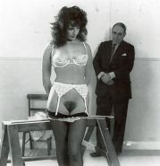 Vintage ladies wearing white panties 4-Punished