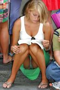 Upskirt Flashing #rec Amateur showing pussy PublicNudity 14 #24553857