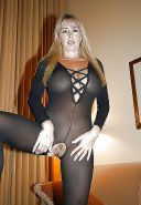 Crotchless Catsuits #6-B
