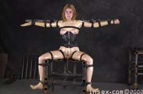 Hardcore BDSM Bondage Tied  and Gagged  #25462293