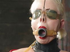Hardcore BDSM Bondage Tied  and Gagged  #25462305