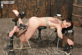 Hardcore BDSM Bondage Tied  and Gagged  #25462352