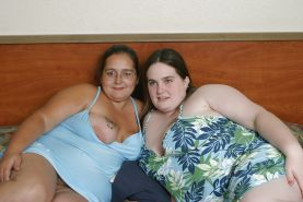 Kaylee with BBW friend