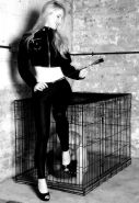 Femdom - captured in cage