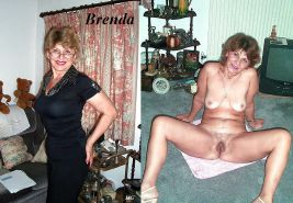 Mature Wives Dressed & UnDressed