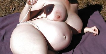 BBW's big bellies and tits 2
