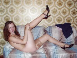 Stockings, lingerie, heels ... & cats 7
