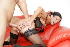 Old but still hot mother creampied into her ass PART 2 #23584975