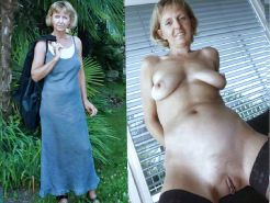 Mature milf dressed undressed #34826756