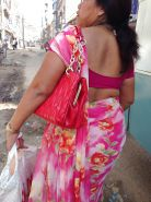 Sexy Nepali aunty with huge ass in saree