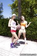 MORE BASKETBALL FUN WITH ASHLEY & HER GIRLFRIENDS