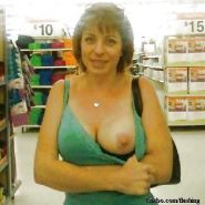 Nude in Supermarket or Store 8