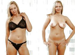 Clothed and Nude - Best Milfs 2014