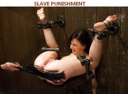BDSM Institute slaves punishment