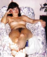 Vintage Polaroids Hairy Wife Pam Hardcore #30687958