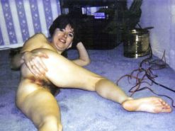Vintage Polaroids Hairy Wife Pam Hardcore #30687963