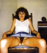Vintage Polaroids Hairy Wife Pam Hardcore #30688004