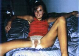 Vintage Polaroids Hairy Wife Pam Hardcore #30688023