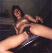 Vintage Polaroids Hairy Wife Pam Hardcore #30688142