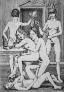 Vintage Erotic Drawings 16