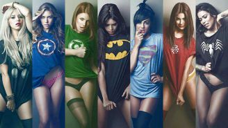 Hot Superhero Women Group