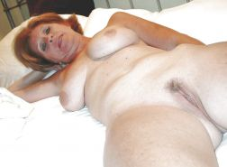 Mature women posing nude and being used