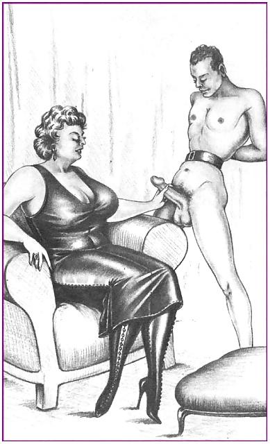 Vintage Erotic Drawings 2 #28880760