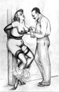 Vintage Erotic Drawings 2 #28880764