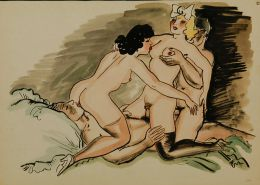 Vintage Erotic Drawings 2 #28880814