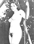 Vintage women with hairy armpits #40252501