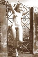 Vintage women with hairy armpits #40252643