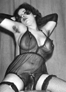 Vintage women with hairy armpits #40252774