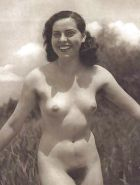 Vintage women with hairy armpits #40253146