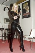 Mixed new leather ,latex ,pvc