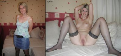 Aline french amateur dressed - undressed 3