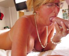 Mature wives and moms posing and being used