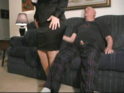 Amateur Pantyhose Wife With Dirty Old Man 1