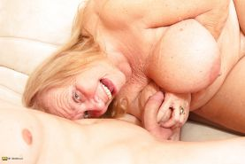 Granny with very BIG boobs fucked by toy boy 2