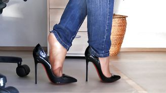 Shoejob and high heels