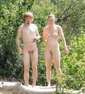 Nudist couple #33561059